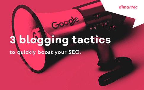3 blogging tactics to quickly boost your SEO.