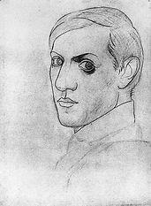 pablo-picasso-self-portraits-chronology-