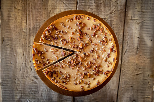 Caramel Pecan 8 inch Cheesecake