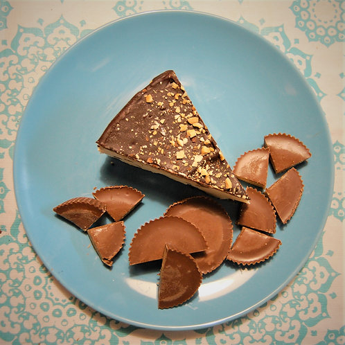Peanut Butter Cup 8 inch Cheesecake