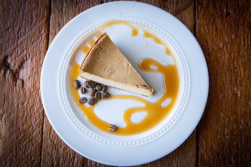 """Salted Caramel Cappuccino Cheesecake 8"""""""