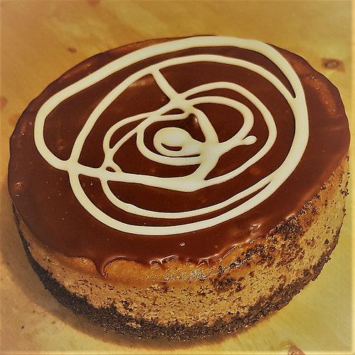 "Mocha Cappuccino Cheesecake 8"""