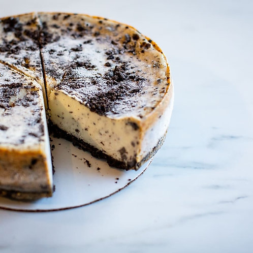 Cookies and Cream Cheesecake 8""