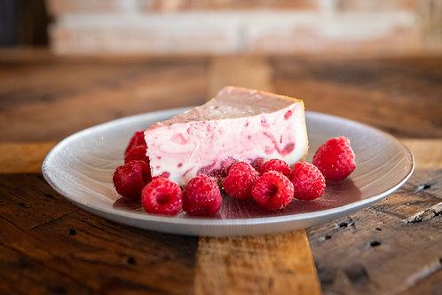 """White Chocolate Raspberry Cheesecake 8"""""""