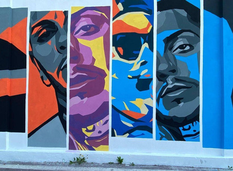 Milano, quartiere Ortica: un murales lungo 100 metri racconta il Rap milanese.