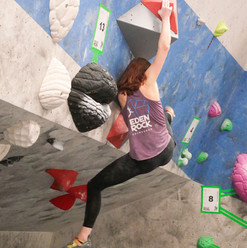 Lou crushing on the comp wall.