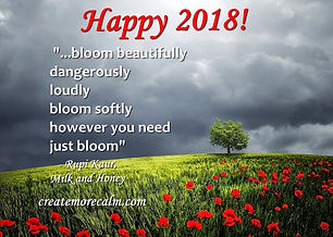 Happy-New-Year-2018 createmorecalm.com.j
