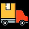 pictograma camión distribución