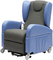 Cleethorpes Mobility Rise Recline Transfer Chair Waterproof