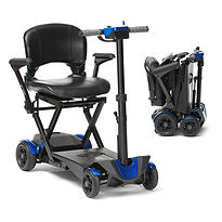 Cleethorpes Portable Folding Scooter Mobility Motability Automatic Folding