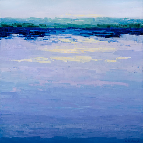 Violet Reflections, 2018