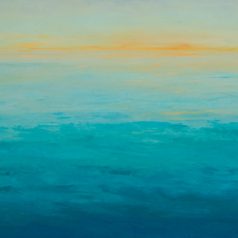 Aqua Ocean Sunset, 2016