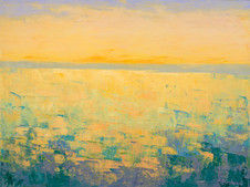Yellow Reflections on the Bay, 2017