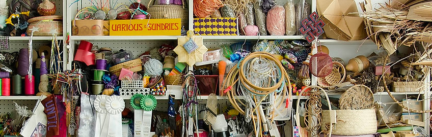 Sausalito basketry artist Emily Dvorin mixes traditional and alternative materials in the making of her innovative vessels.