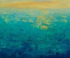 Sunset on Turquoise Sea, 2016