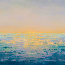 Mauve Ocean Sunset, 2017