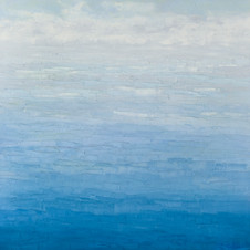 Cloudy Blue, 2019