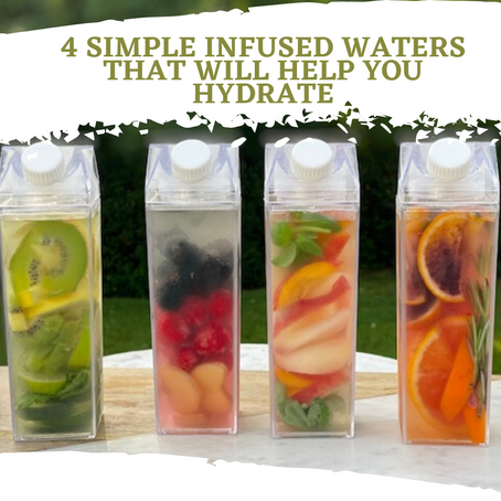 4 Simple Infused Waters That Will Help You Hydrate