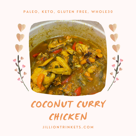 Easy Coconut Curry Chicken with Vegetables