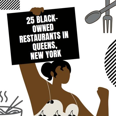 25 Black- Owned Restaurants In Queens New York