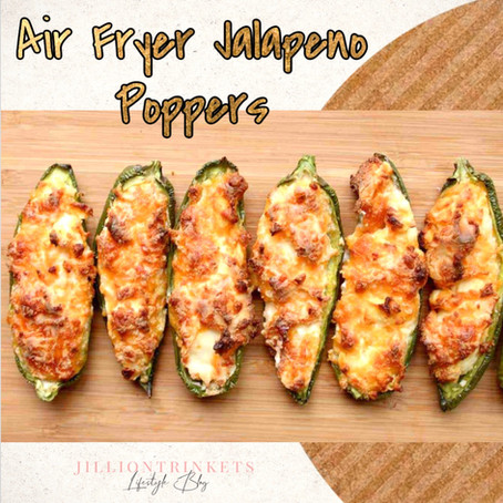 Air Fryer Jalapeno Poppers