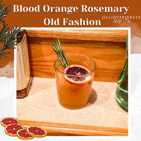 Blood Orange Rosemary Old Fashion
