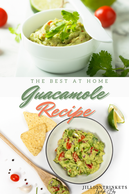 THE BEST At-Home GUACAMOLE RECIPE