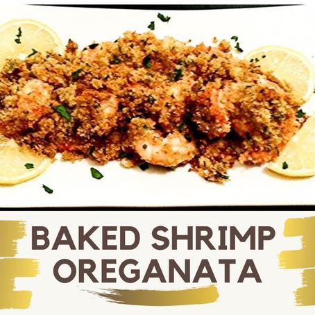 Baked Shrimp Oreganata