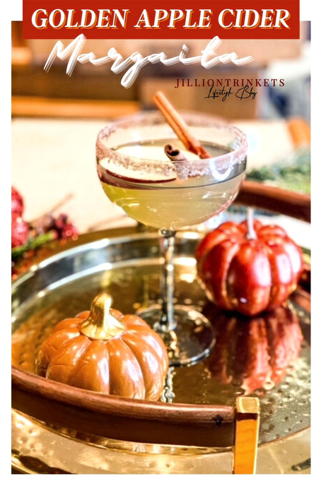 Golden Apple Cider Margarita
