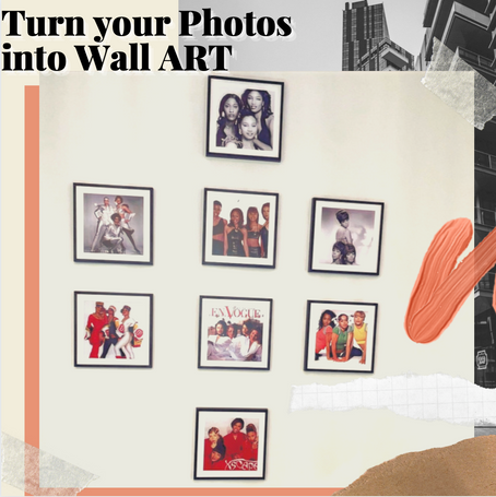 Turn your Photos into Wall ART