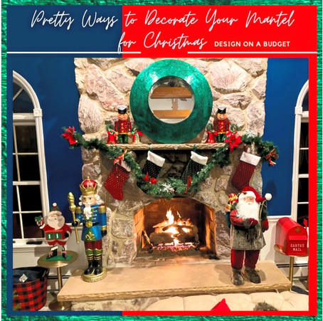 Pretty Ways to Decorate Your Mantel for Christmas