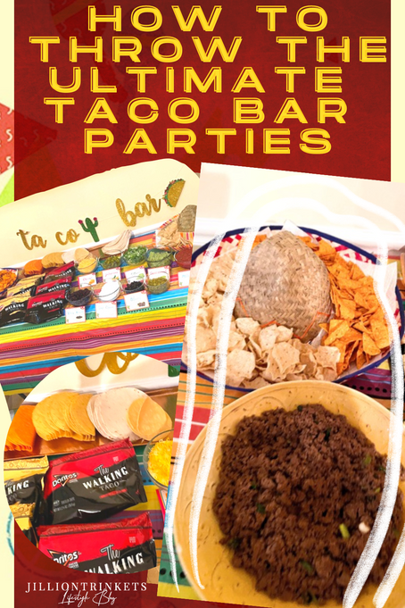 How to Throw The Ultimate Taco Bar Parties