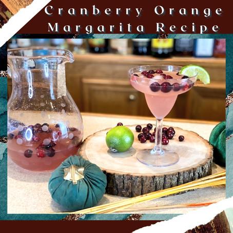 Cranberry Orange Margarita Recipe