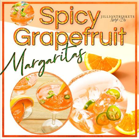 Spicy Grapefruit Margaritas