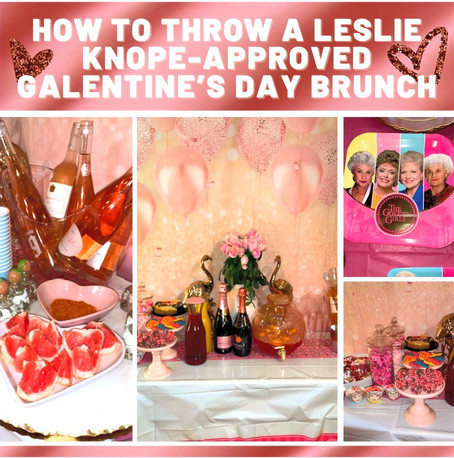 How to Throw a Leslie Knope-Approved Galentine's Day Brunch