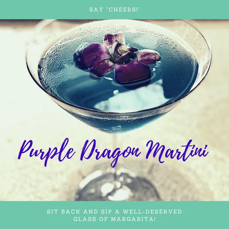 Purple Dragon Martini