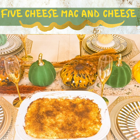 Five Cheese Mac and Cheese