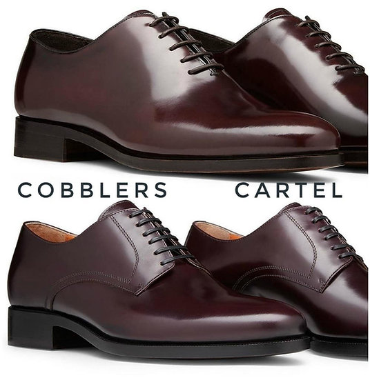 One cut Derby shoes