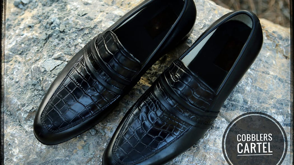 Dublin Loafers Reptile for Men