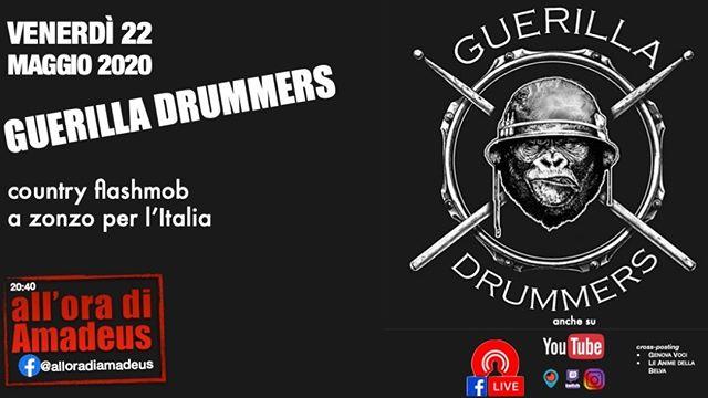 Guerilla Drummer è un gruppo che nasce c