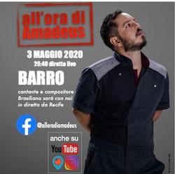 Vi aspetto il 3 maggio insieme a @barro