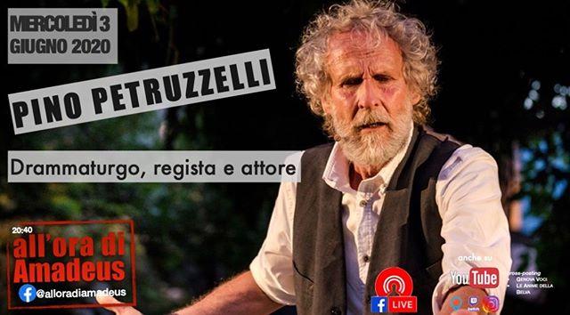 #alloradiamadeus  con Pino Petruzzelli -