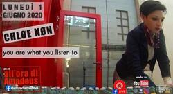 Ore 20:40, diretta live con @chloenon e