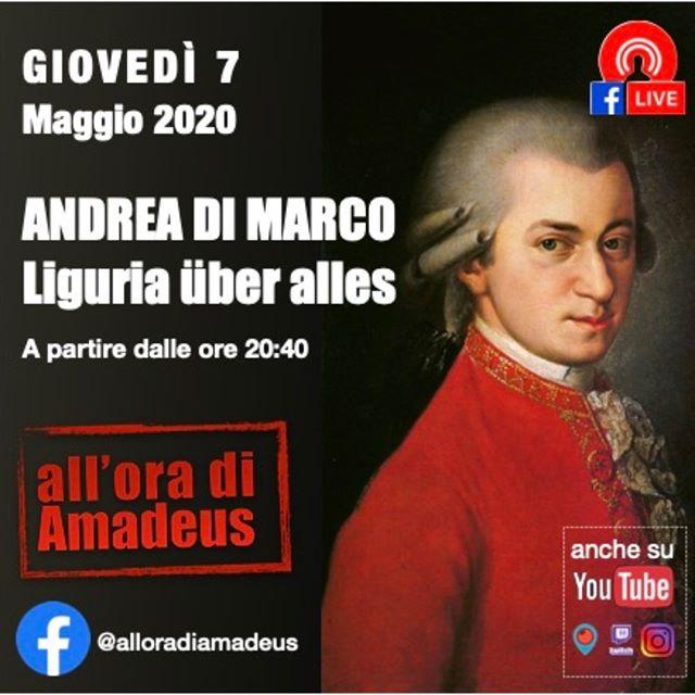 7 maggio 202 ANDREA DI MARCO Liguria üb