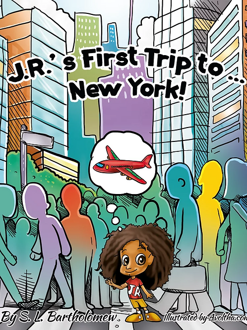 J.R.'s First Trip to New York! (Paperback)