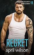 Regret - ebook cover - FLATTENED - SENT
