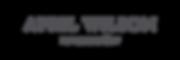 Transparent author name logo.png
