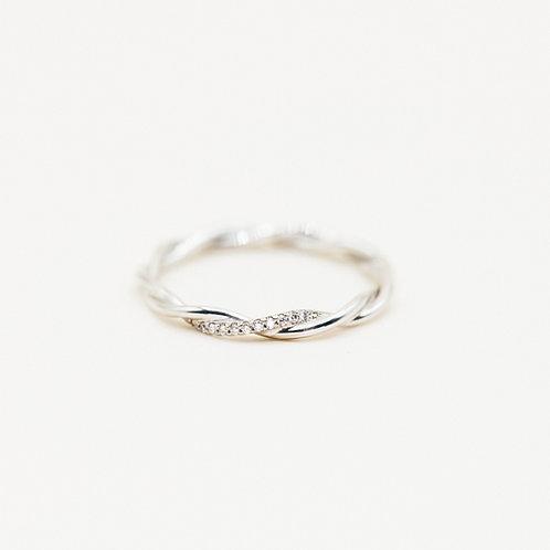 """Ring """"Kordel"""" fein"""