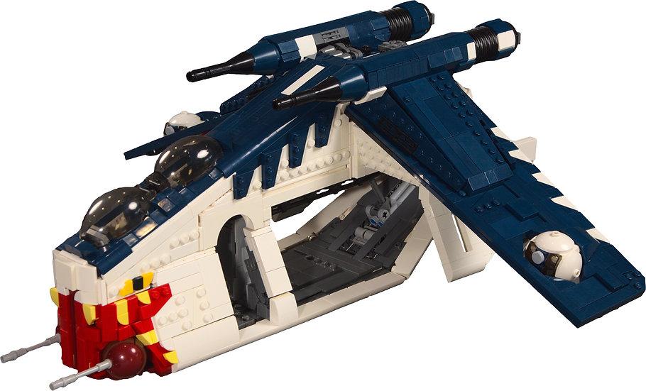 Muunilinst 10 Republic Gunship (LAAT/i)