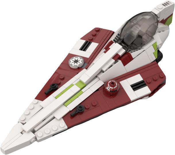 Obi- Wan Kenobi's Delta-7 Starfighter